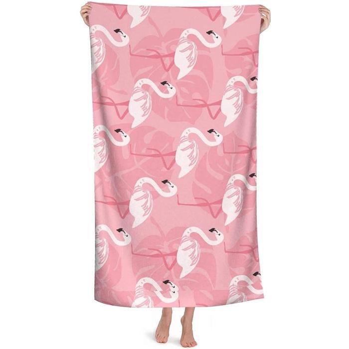Flamingo Serviette de plage imprime flamant rose serviette de plage serviette de plage serviette d'ete serviette de plage servie599