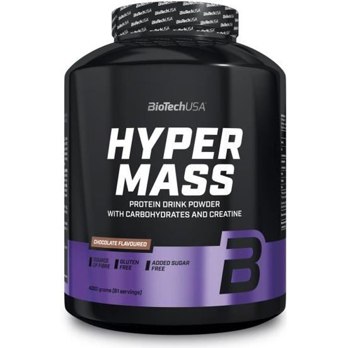Hyper Mass 5000 CHOCOLAT Biotech USA Proteine Whey