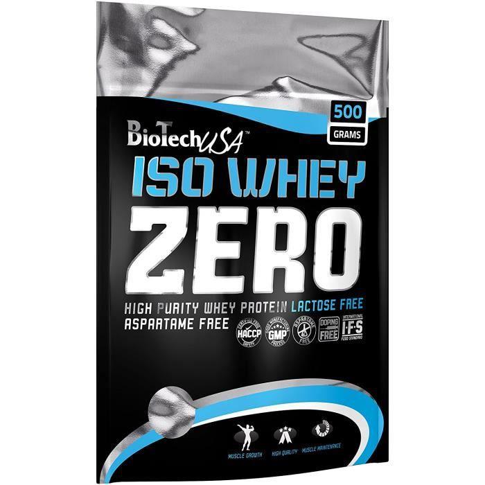 Biotech USA 10002030810 Isowhey Zero Lactose Free Protéine Saveur Cookies & Cream: Hygiène et Soins du corps