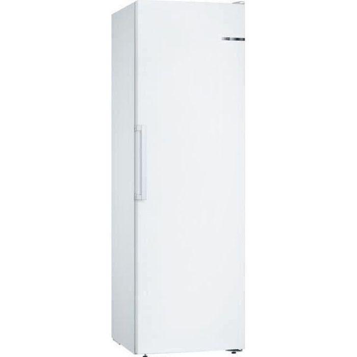 BOSCH GSV36VWEV - Congélateur armoire - 237L - Froid Low Frost - L 60 x H 186 cm - Blanc