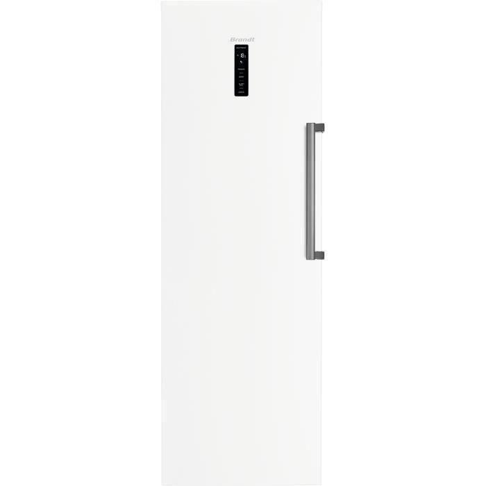 BRANDT BFU862YNW - Congélateur Armoire - 262L - No Frost - L 59,5 x H 185 cm - Blanc