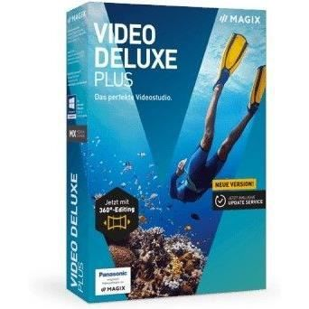 MAGIX Logiciel Video deluxe Plus - Box - FR