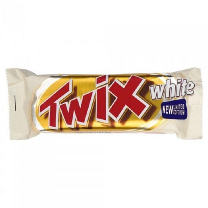 Twix Chocolat Blanc