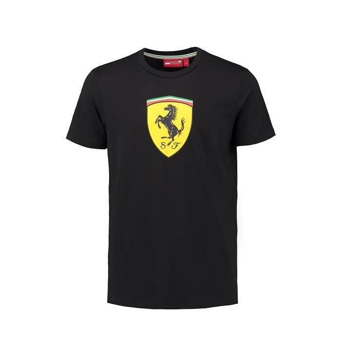 T-shirt FERRARI Classic noir pour homme