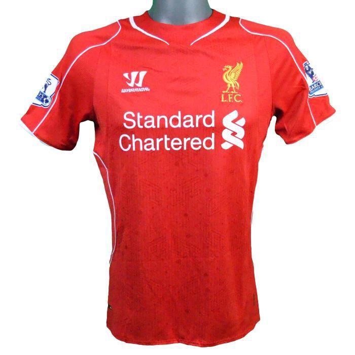 Maillot domicile Liverpool 2014/2015 Gerrard avec badge pro