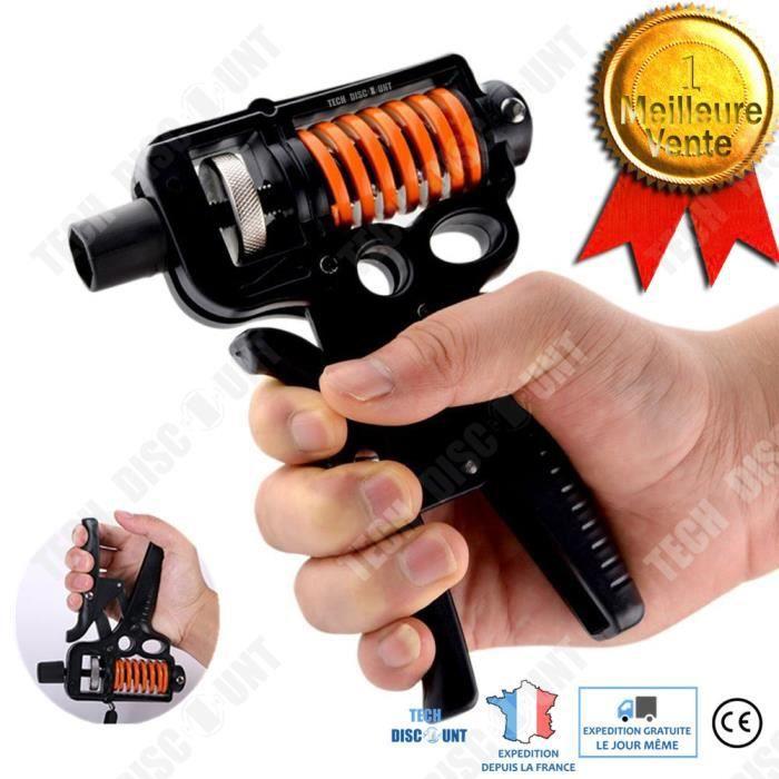 TD® Dispositif de poignée réglable, équipement de fitness, conditionnement physique pour la rééducation des doigts à poignée étendue