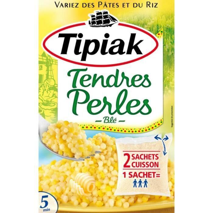 Tendres perles de blé Tipiak - 350 g