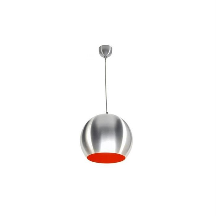 Lampe suspension gorgio alu rouge achat vente lampe suspension gorgio c - Lampe suspension rouge ...
