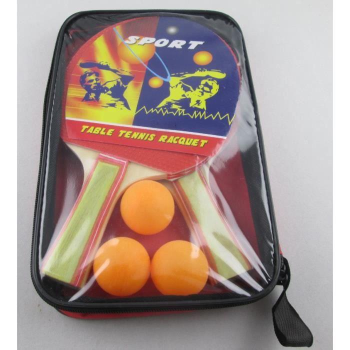 RAQUETTE TENNIS DE T. kit raquette de ping pong