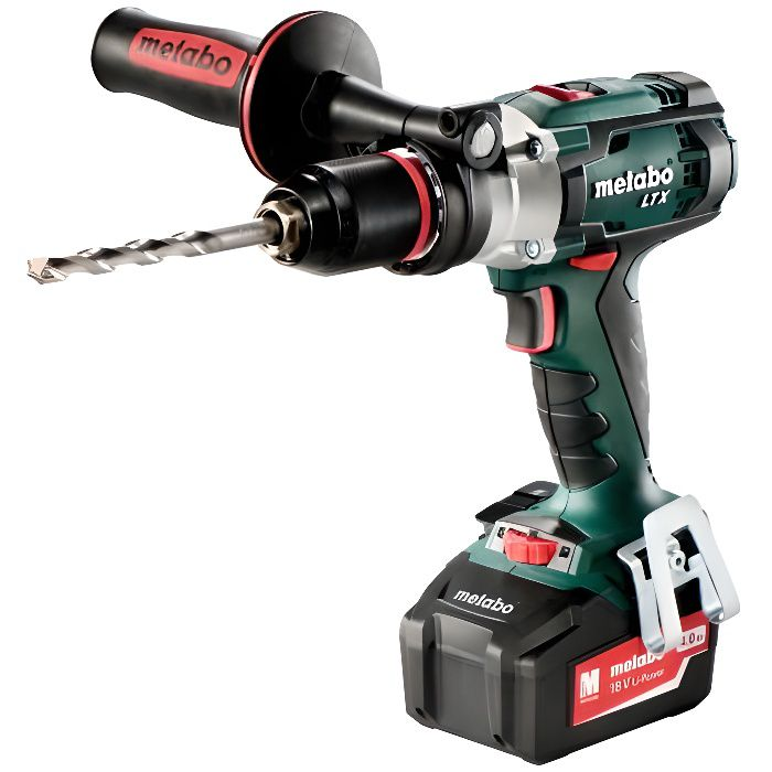METABO Perceuse visseuse à percussion 110Nm 2x18V 4Ah Li-ion