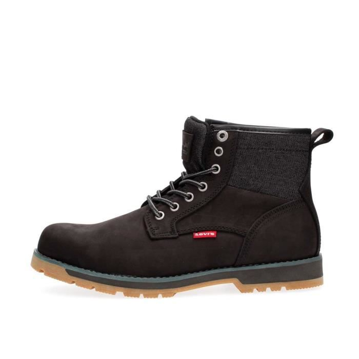 LEVIS BOTTINES Homme BLACK, 45