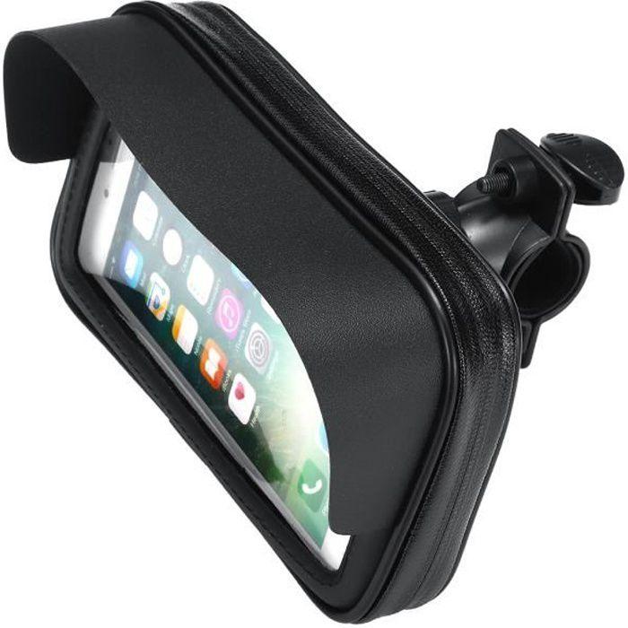 /Étanche Universel Moto v/élo Scooter Support de t/él/éphone Portable Sac Support de t/él/éphone Support Cas pour Smartphones