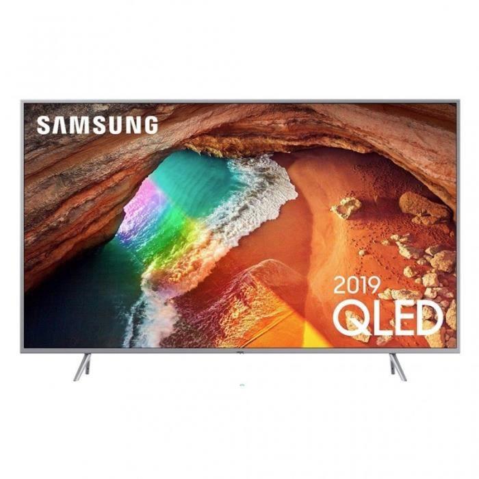 """Téléviseur LED Samsung TV QLED 4K Ultra HD 55"""" 138cm QE55Q67R"""