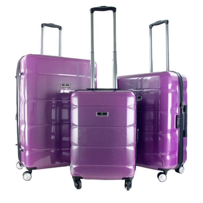 SET DE VALISES Lot de 3 valises rigides Séoul 54, 66 et 76 cm Vio