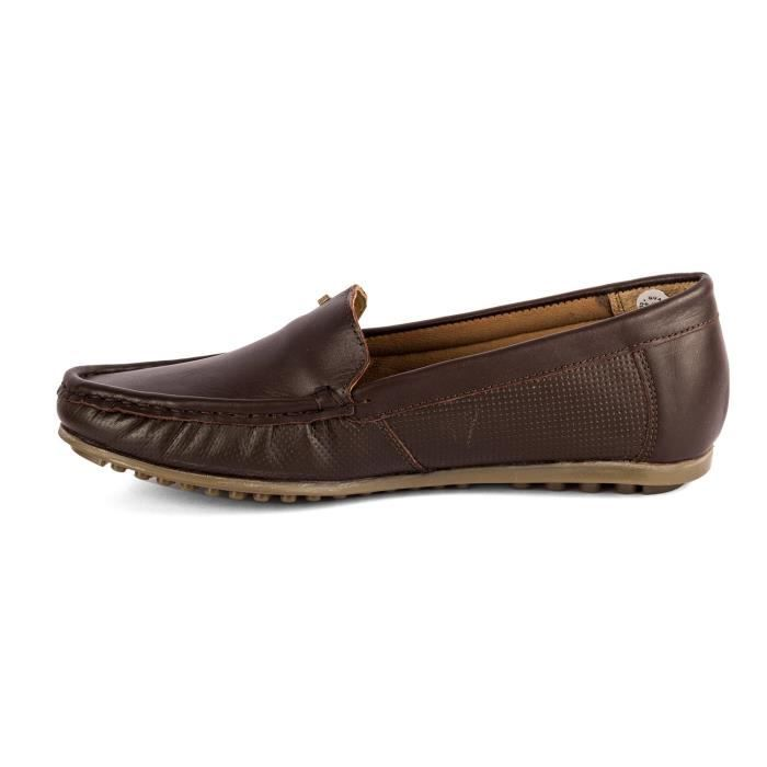 Casual For Leather Women's Taille Women Loafers O8bvs Woodland 37 TUZHqwRq
