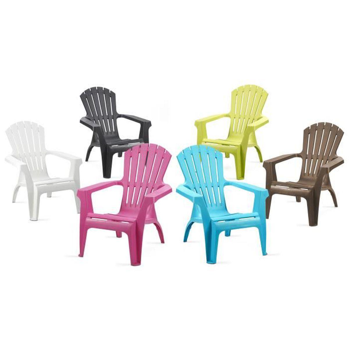 Fauteuil de jardin plastique - Grand fauteuil confort Taupe ...