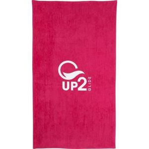 SERVIETTES DE BAIN UP2GLIDE Drap de plage Cat - Rose
