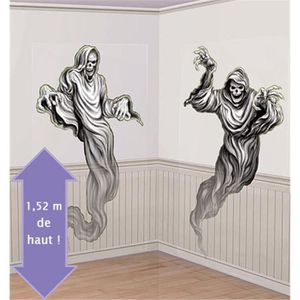 D coration murale halloween achat vente d coration for Decoration murale halloween
