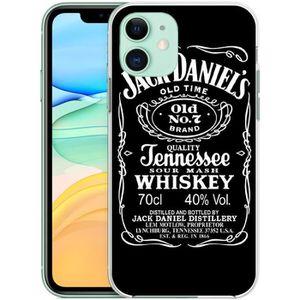 coque pour iphone 11 jack daniels logo