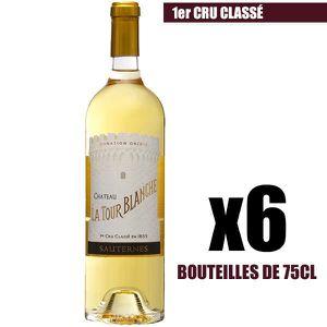 VIN BLANC X6 Château La Tour Blanche 2016 75 cl AOC Sauterne