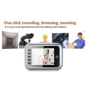 SONNETTE - CARILLON LCD 3,5 pouces de caméra judas caméra de porte de