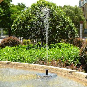FONTAINE DE JARDIN Nouvelle pompe solaire de fontaine d'eau de bain d
