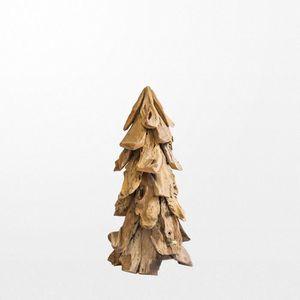 SAPIN - ARBRE DE NOËL Sapin en bois rond sans base 100 cm