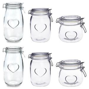 Datant de verre conserves pots
