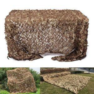 ACCESSOIRES CAMOUFLAGE Filet de Camouflage Double Couche Brown Camo Sand