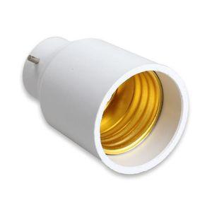 ADAPTATEUR DE DOUILLE B22 à E27 LED halogène CFL base de la lumière ampo