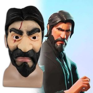 MASQUE - DÉCOR VISAGE Fortnite The Reaper Masque Cosplay John wick Masqu