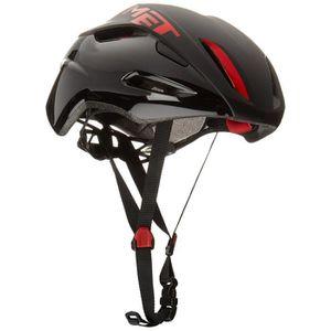 CASQUE DE VÉLO MET Casque de Vélo - MANTA noir-rouge, Taille: 59-