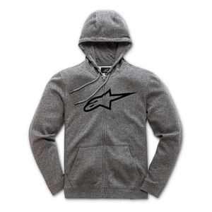 Sweat zippé à capuche Femme Alpinestars Ageless Gris Heather