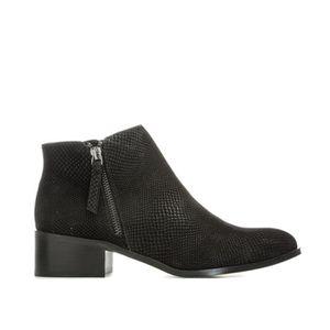 BOTTINE Boots Vero Moda Mari pour femme en noir.