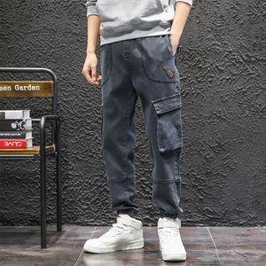 JEANS Nouveau Mode pour hommes Coton Casual taille élast