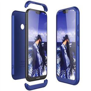 COQUE - BUMPER Coque Huawei p20 lite coque antichoc bleu Trois co