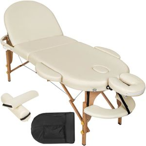Table de massage TECTAKE Table de massage Pliante Portable 230 cm x