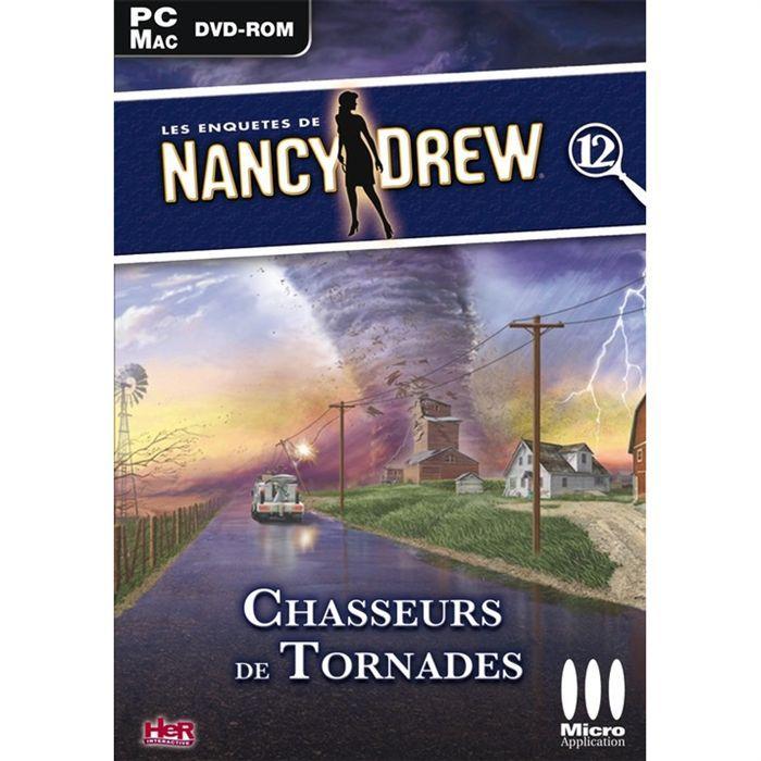 ENQUÊTES DE NANCY DREW: CHASSEURS DE TORNADES / PC