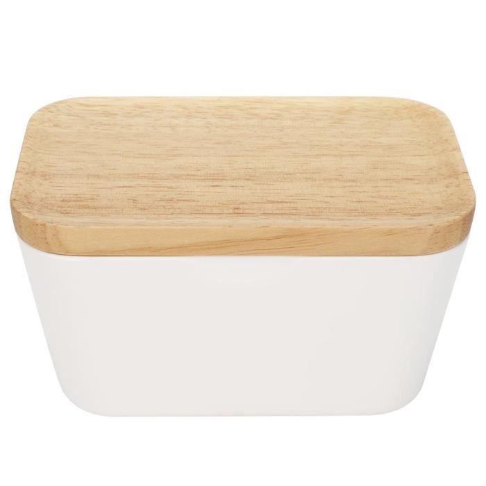 Beurrier huilier Boîte multifonctionnels de cuisine de récipient de plat de bol pour conservation de beurre (pour le beurre 400g)