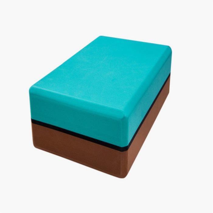Le pack de 2 briques de yoga et la brique de yoga en mousse EVA haute densité peuvent soutenir et approfondir @472
