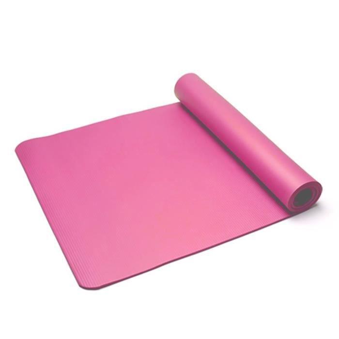 Tapis de yoga classique Yoga Mat Pro TPE Eco Friendly Antiderapant Fitness Tapis d'exercice Produit de yoga 76