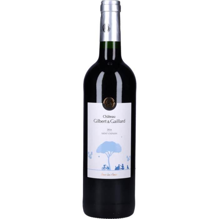 Vin Rouge - Château Gilbert et Gaillard Cuvée pour les amis 2016 - Bouteille 75cl