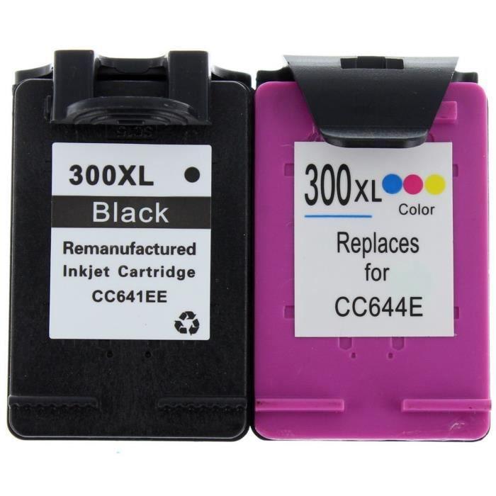 Pack compatible Hp 300Xl pour Hp Deskjet F2480