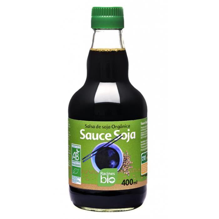Sauce soja 400ml - Racines Bio
