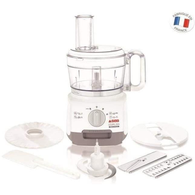Seb DO221F00 Robot Multifonction Store' Inn 2L Blanc/gris