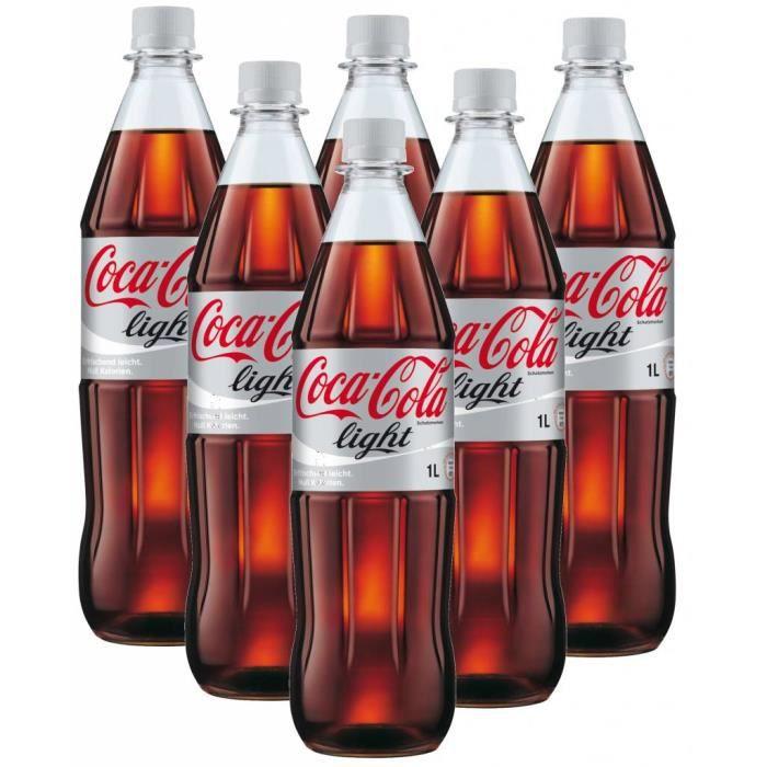 Coca Cola Light 6 x 1l