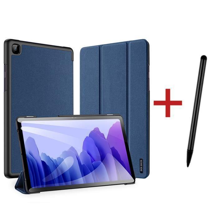 Housse Coque Étui pour Samsung Galaxy Tab A7 2020 10.4 pouces[+stylet] Réveil/Sommeil Automatique Tablette Tactile Antichoc Protecti