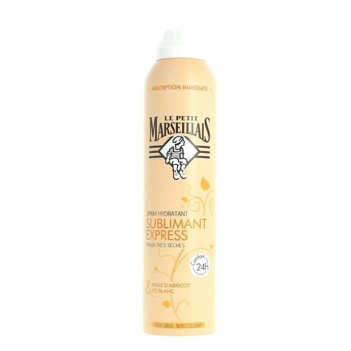 Spray Hydratant Nutrition Huile Abricot Le Petit Marseillais