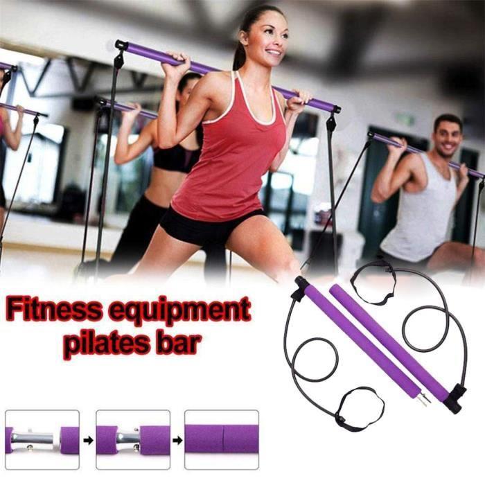 Barre de Pilates tension abdominale avec des bandes forme d'exercice
