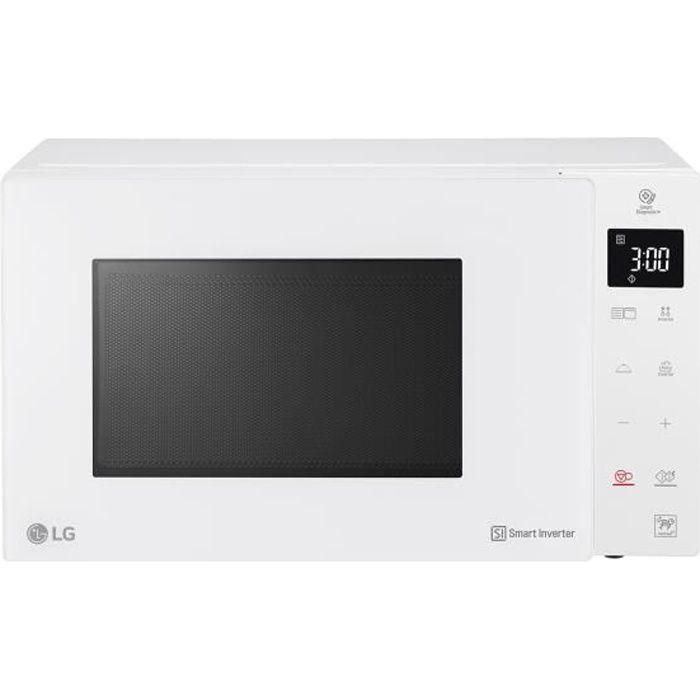 LG MH6336GIH, Comptoir, Micro-onde combiné, 23 L, 1150 W, Toucher, Blanc